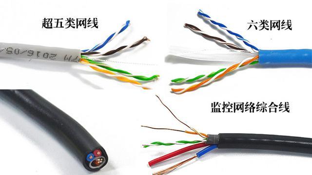 安防数字监控布线可选择网线进行布线