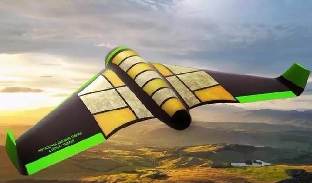 能吃还能飞的无人机 3米宽可食用的翅膀