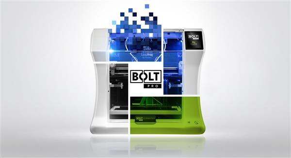 Leapfrog 3D Printers推出专业级3D打印机Leapfrog Bolt Pro