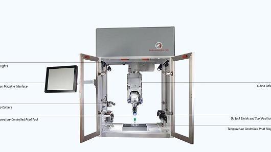 美国软件公司开发出全球首款3D人体器官打印机