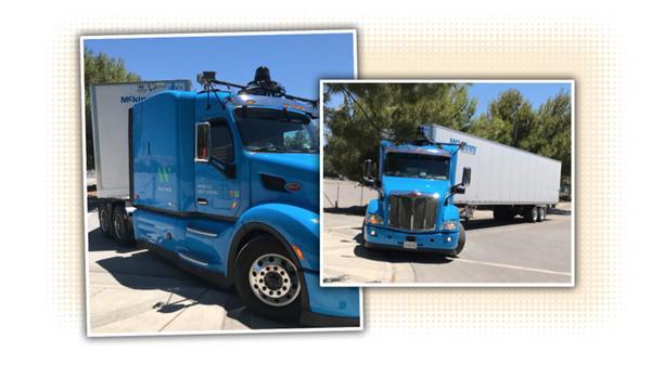 谷歌自动驾驶卡车首曝光:配激光雷达、超声波传感器