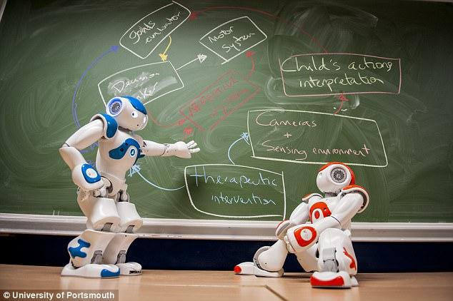 新诊断工具!机器人医生可帮助治疗自闭症儿童
