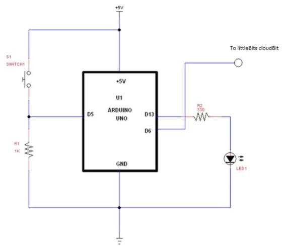 arduino 触发电路原理图