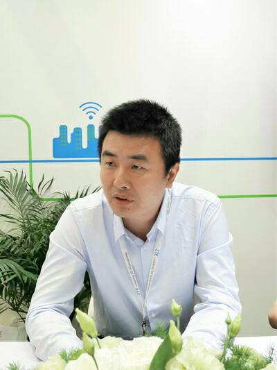 中兴刘金龙:对网络重构充满自信 与运营商合作愉快