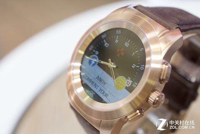 这款液晶屏加机械指针智能手表 你怎么看?