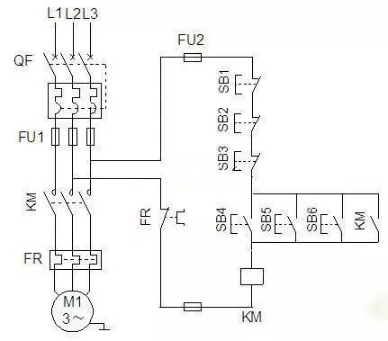 电力拖动控制线路图