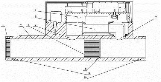 专利丨一种基于超声波燃气表的分流计量装置