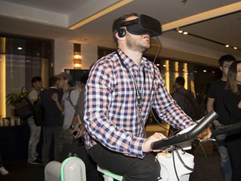 """""""VR+健身+电竞""""单车来袭,或将颠覆传统电竞和健身?"""