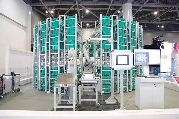 ABB机器人:积极拓展仓储物流机器人应用