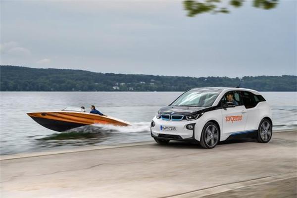 宝马i3电池组新用途:驱动电动船