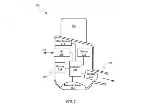 苹果新专利:AirPods变身为健康追踪器