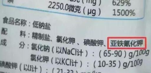 国产食盐添加剂堪比砒霜?是非曲直检测仪器来判断