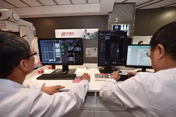 阿里健康人工智能医疗Doctor You首秀:九千张CT影像30分钟阅完