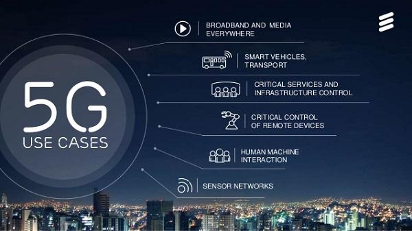 爱立信:2022年 约每六人就有一人使用5G