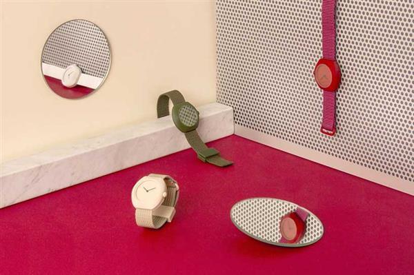 设计师手里的艺术品:3D打印五彩手表