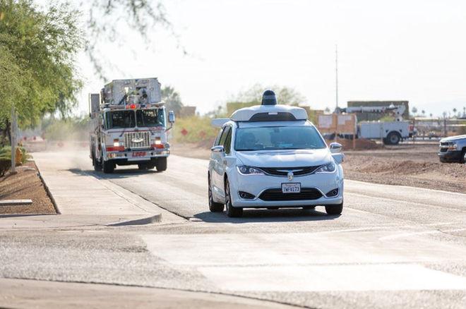 Waymo无人驾驶车搭载新传感器 可避让特种车辆