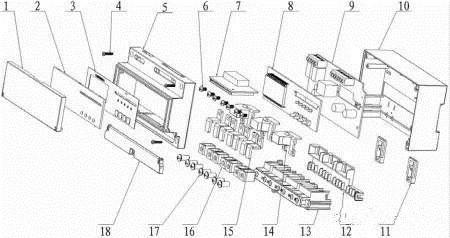 专利丨一种导轨式三相预付费电能表