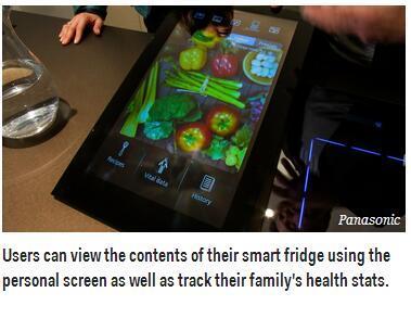 松下要造懒人必备智能家居:用平板指挥微波炉
