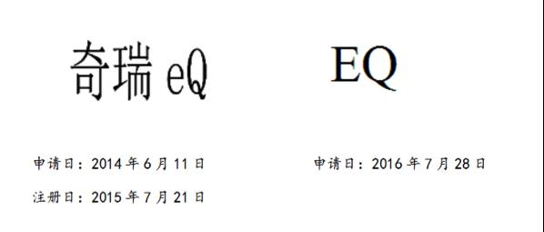 """电动车商标纠纷和解:奇瑞、奔驰共享""""eQ/EQ""""品牌名称"""