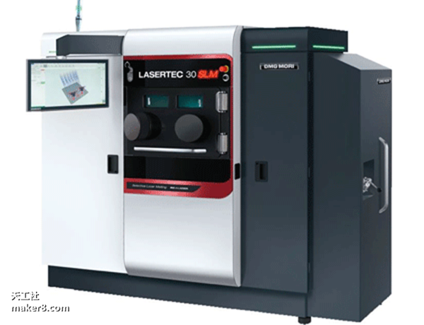 德玛吉森精推出自己最小的一款金属3D打印机Lasertec 30 SLM