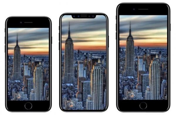 iPhone 8指纹识别换面部识别 对手只能望其项背!