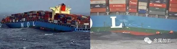 日本船舶制造业的耻辱 MOL COMFORT号断船事故