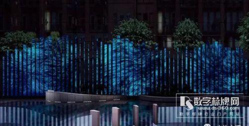 """芝加哥惊现LED显示屏打造""""活雕塑"""""""