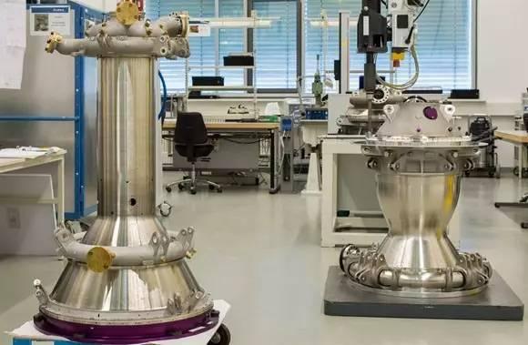 新的Ariane 6 Vinci发动机推进室采用3 D打印方式生产