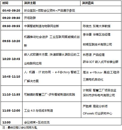 OFweek 2017中国工业互联网技术及应用研讨会即将开幕