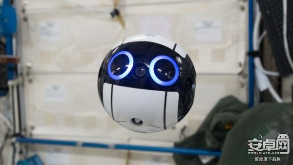 日本宇航员新伙伴:Int-Ball球形无人机