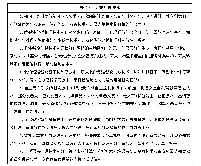 国务院关于印发新一代人工智能发展规划的通知