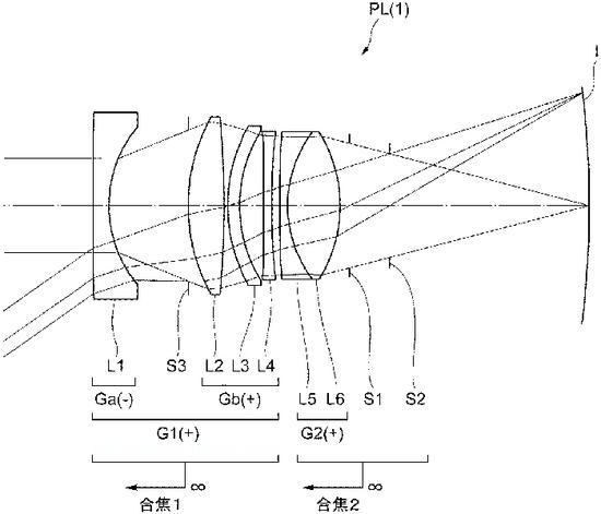 尼康公布适用于全幅曲面传感器的35mm f/2.0无反镜头专利