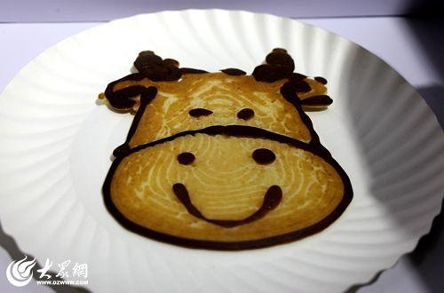 3D打印惊艳亮相软博会 美味煎饼现场打印