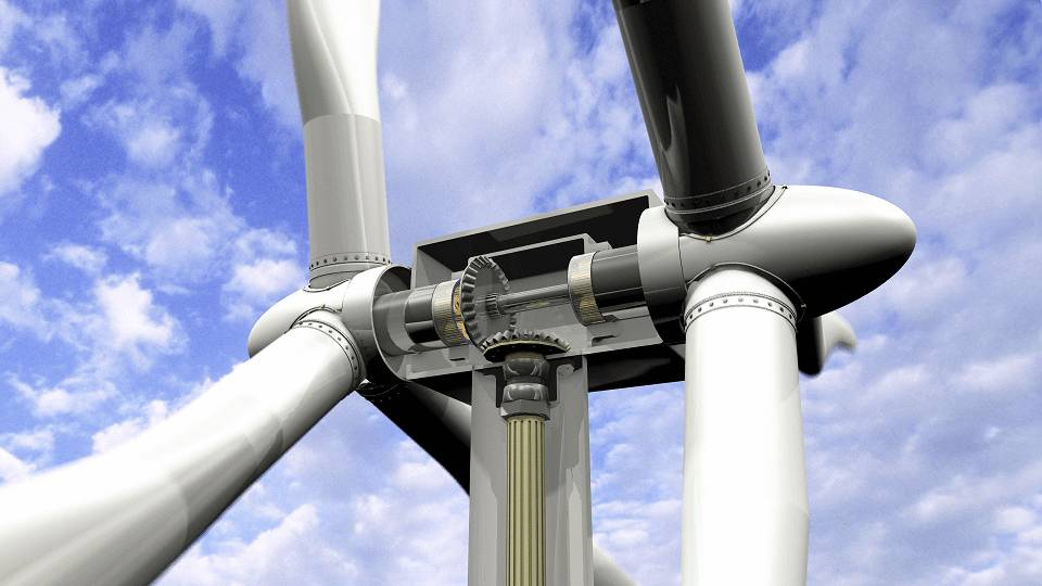 5MW双转子风电机组将于年底问世(图)