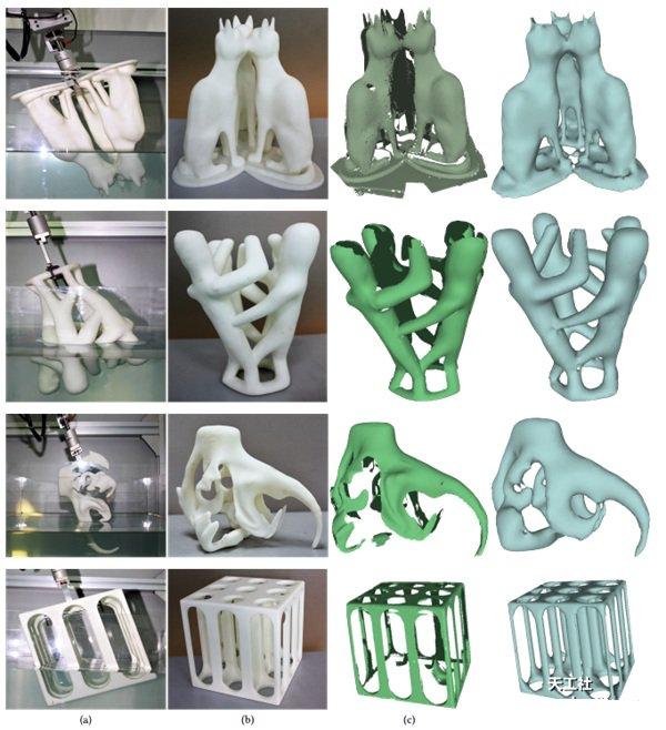 新颖的水浸3D扫描法将物体浸入水中来重建3D形状