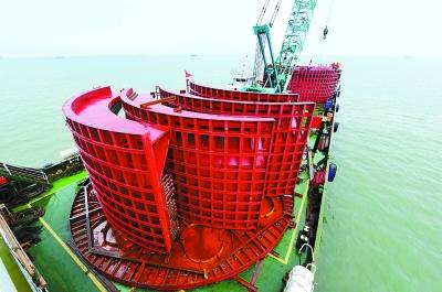 北方首个海上风电项目明年并网
