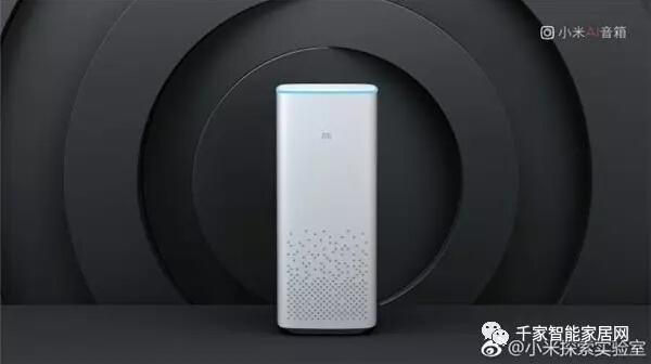 风口再现 小米发布AI智能音箱