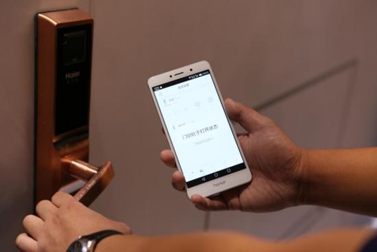 全球首款NB-IoT海尔智能门锁上市加速布局物联生态