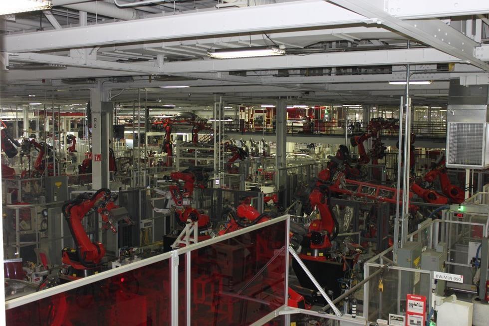Model 3诞生之地:特斯拉弗雷蒙特工厂探秘