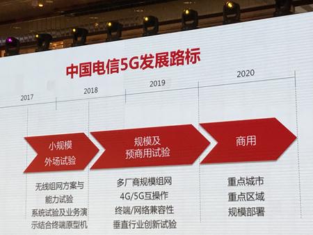 沈少艾详解中国电信5G路线图:2020年规模部署