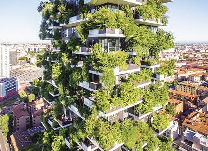 """""""垂直森林""""遍地开花 城市生态将改善环境"""