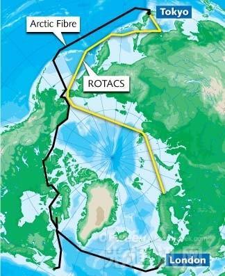 俄罗斯政府将支持跨北极电缆部署