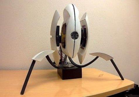 3D打印Portal游戏的哨兵炮塔
