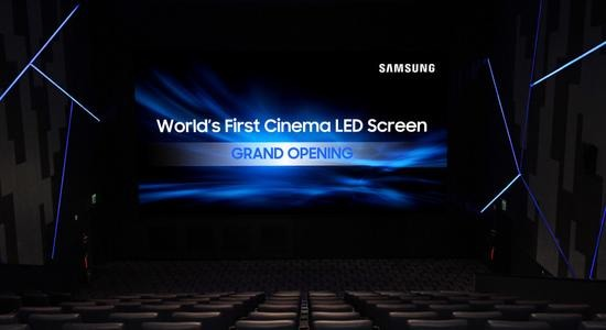 三星LED屏进军影院 激光放映机能否捍卫王座?