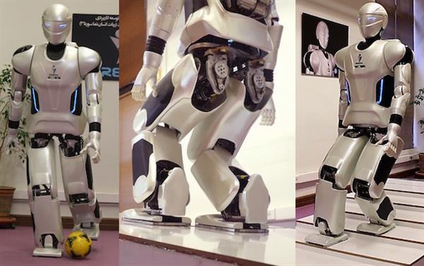 伊朗3D打印人形机器人Surena Mini能跳舞还能打空手道