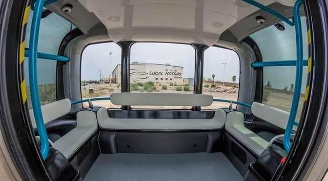 美国推出 3D 打印无人驾驶公交车