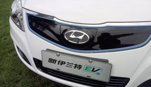 北京现代伊兰特悦动首款纯电动发布