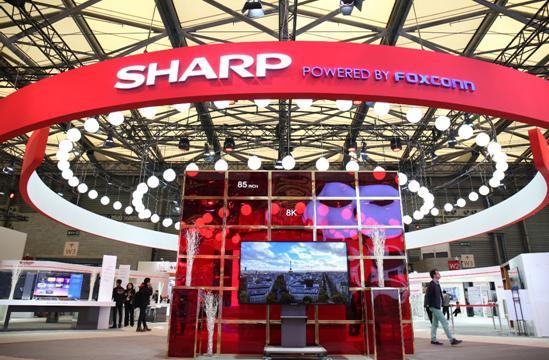 """夏普回归欧美家电展览会 展示""""8K""""等技术实力"""