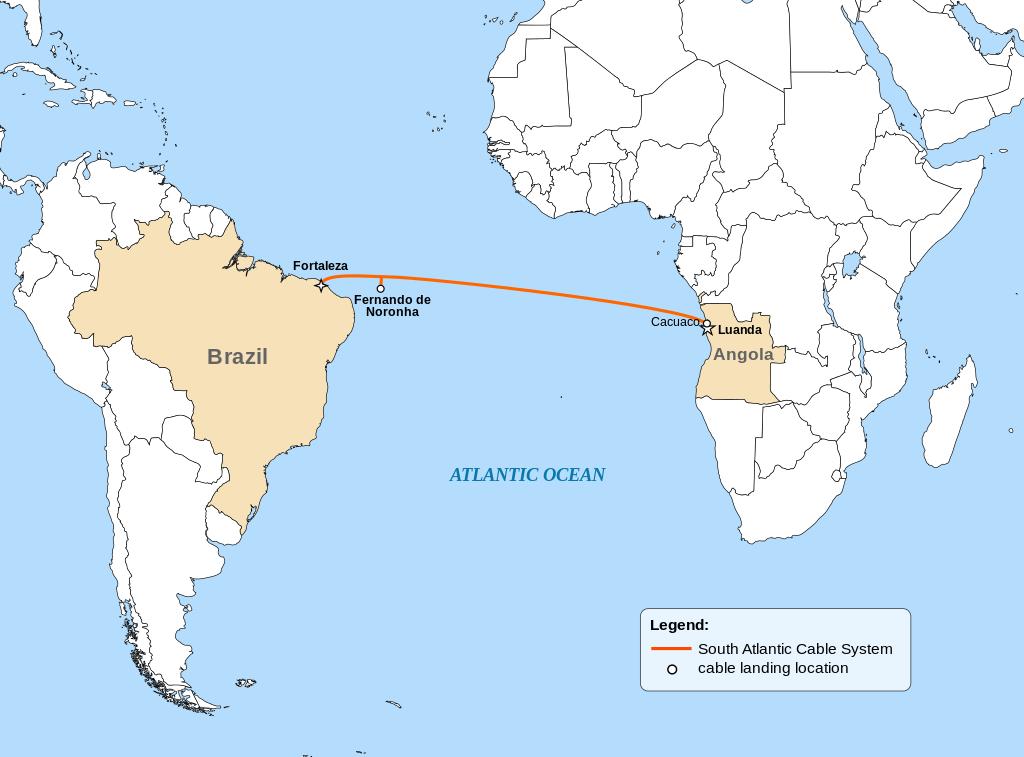 安哥拉电缆9日启动SACS海底光缆巴西站建设