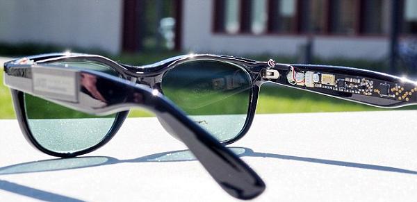 太阳能电池新技术:眼镜充电器